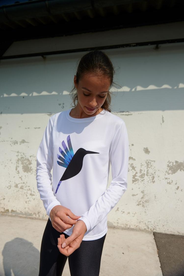 Gigi Jersey - Hummingbird Purple & Blue - Women's Football - Front view