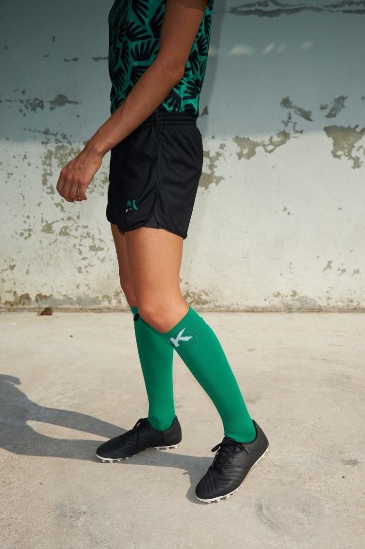 Short avec sous-short intégré Mia - Football Femme - Vue de côté