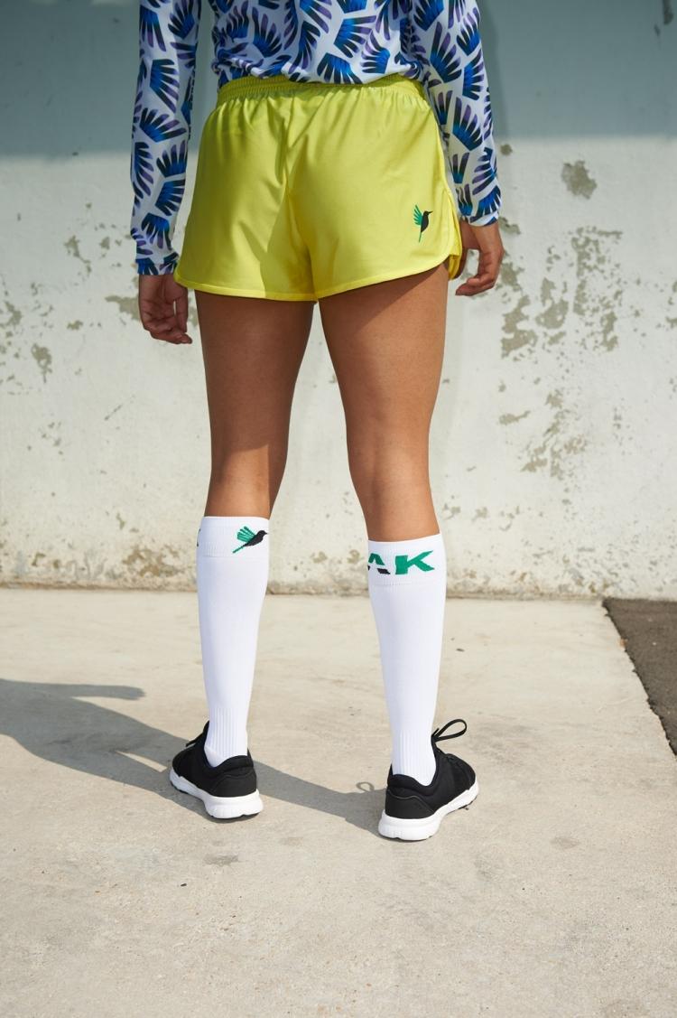 Short Nettie - Primula - Jaune - Football Femme - Vue de dos