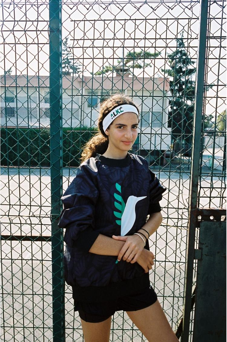 ALKÉ headband - Women's Football - 3/4 Front view