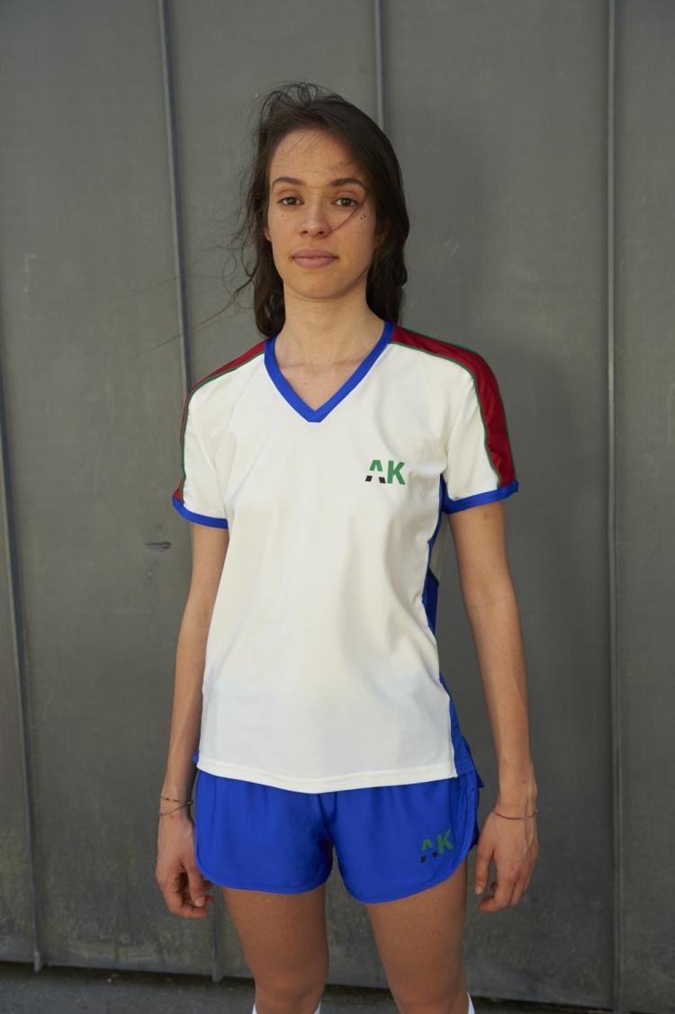 maillot football femme face